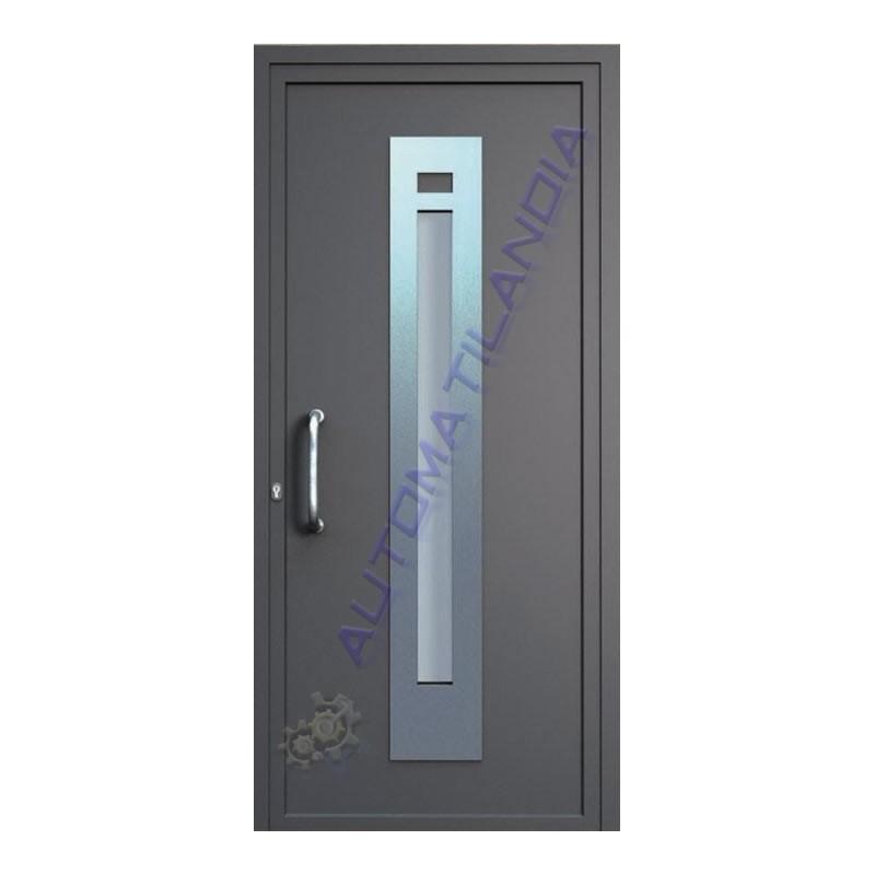 Fabricante de puerta de aluminio imitaci n madera st 3101 for Paneles de aluminio para puertas