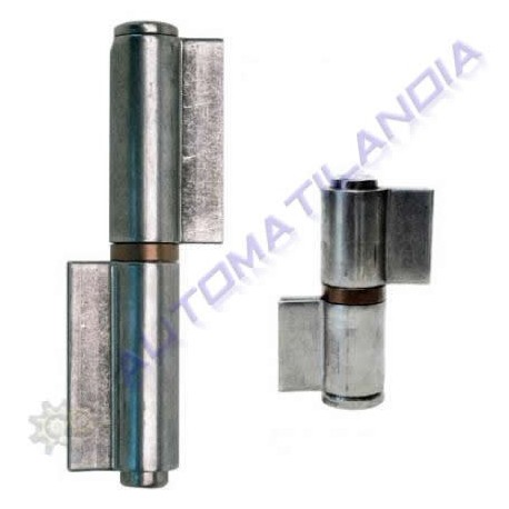 Pernio doble chapa de dos palas cerradas 28x175mm