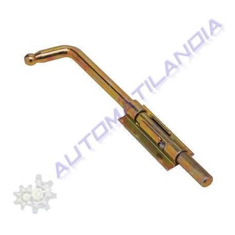 Colocar pasador cerrojo para soldar de 14x400mm en puerta - Cerrojos para puertas de aluminio ...