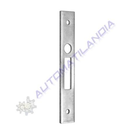 Cerradero para cerradura en puerta corredera f cil for Cerradura puerta corredera