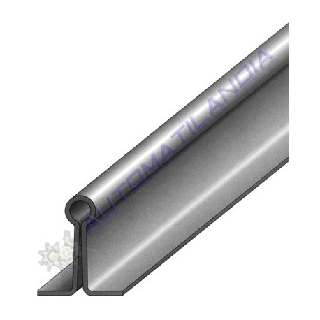 Rail guia inferior de embutir para puerta corredera f cil instalaci n - Guia para puerta corredera ...