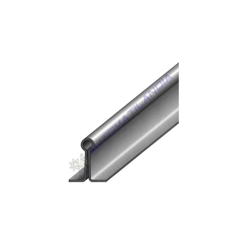 rail guia inferior de embutir para puerta corredera ref 1288 3mts - Guia Puerta Corredera