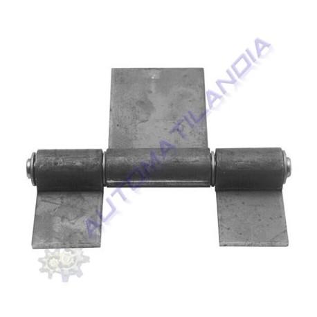 Bisagra industrial de 3 cuerpos para puertas basculantes o for Puerta industrial