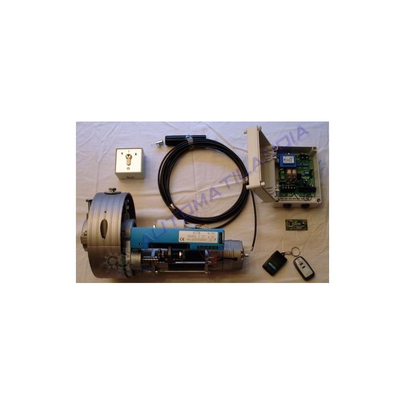 Kit de automatizaci n persiana con motor enrollable mando - Kit motor persiana ...