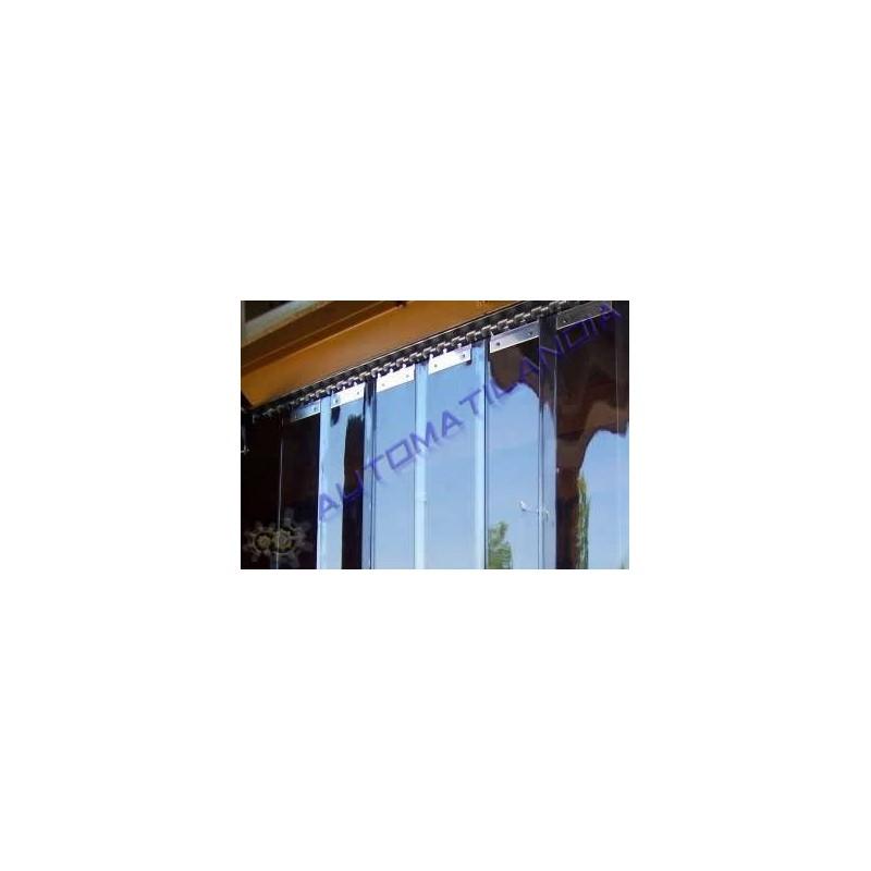 Comprar cortina pvc de lamas verticales separar ambientes for Lamas de pvc para paredes