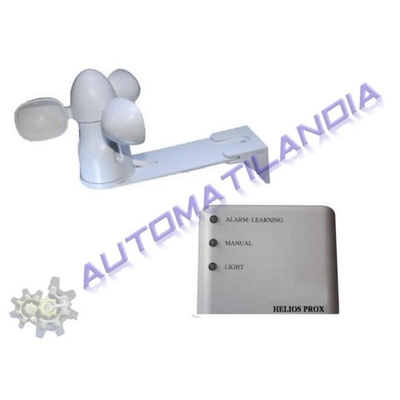 Kit sensor de viento para claraboya controla el cierre for Sensor viento para toldos