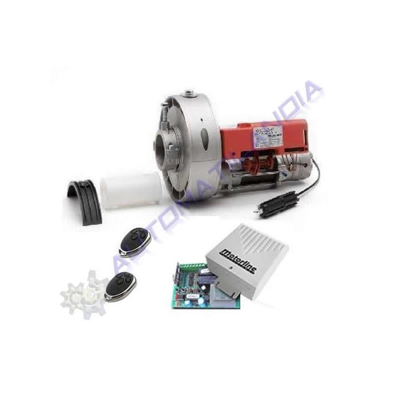 Kit motores para persianas enrollables 160kg 2 mandos a for Kit de persianas