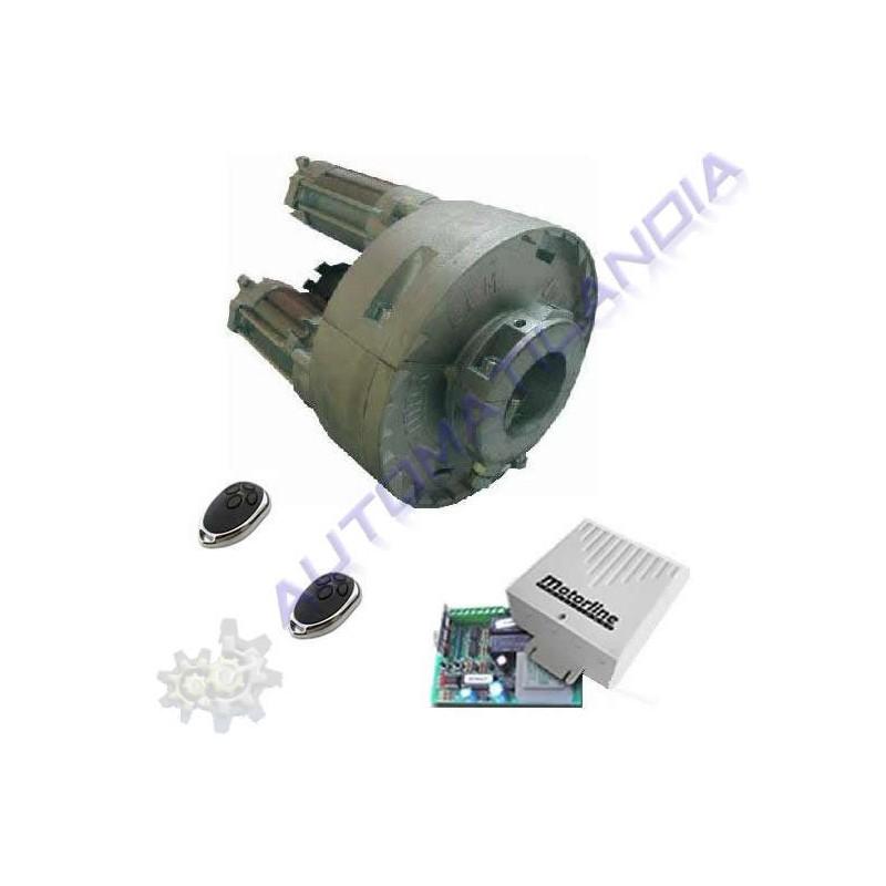 Kit motorline de motor para persiana enrollable de 320kg - Motor para persiana ...
