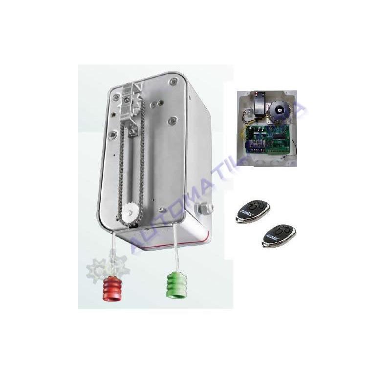 Motor puerta seccional industrial erreka mod izar tarjeta - Motor para puerta seccional ...