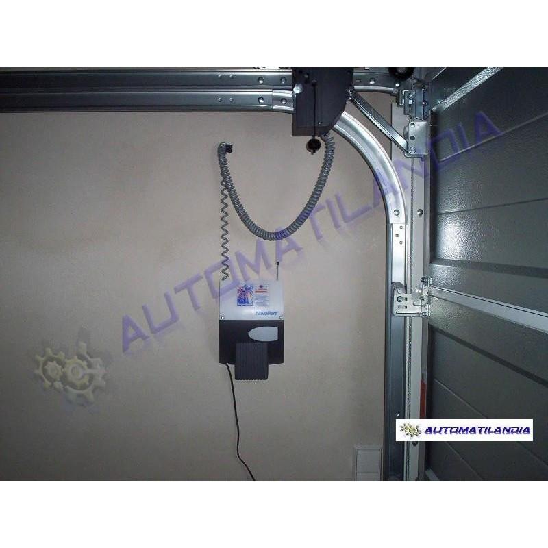 Motor lateral novoport para puertas de garaje seccionales - Motor puerta garaje ...
