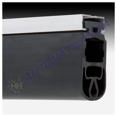 Perfil aluminio y goma paragolpes puertas correderas f cil instalaci n - Burletes de goma para puertas exteriores ...