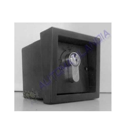 Selector de llave dorcas 2 contactos cerradura el ctrica for Donde venden puertas