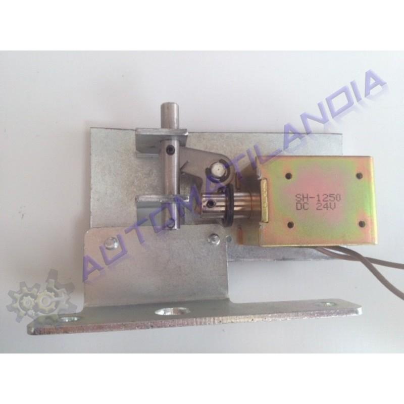Cerrojo electromagn tico puertas de cristal correderas for Cerrojo para puerta de bano