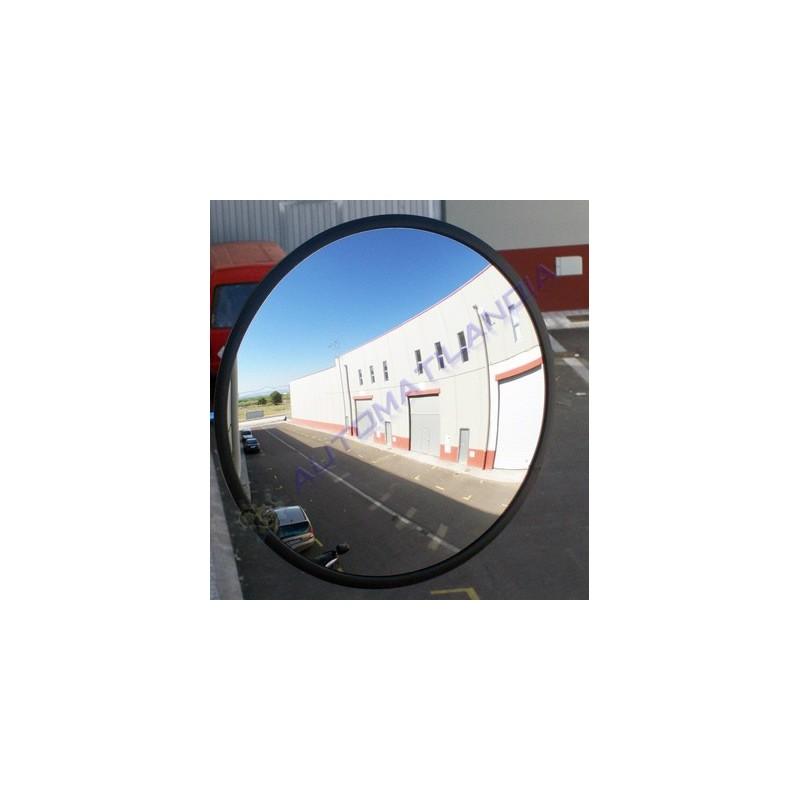 Espejo redondo convexo 325 mm de seguridad protecci n y for Espejo redondo grande
