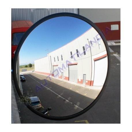 Espejo redondo convexo 650 mm de seguridad se alizaci n for Espejos de seguridad