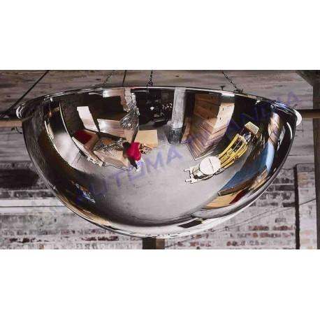 Espejo de seguridad 800 mm esf ricos media esfera for Espejos de seguridad