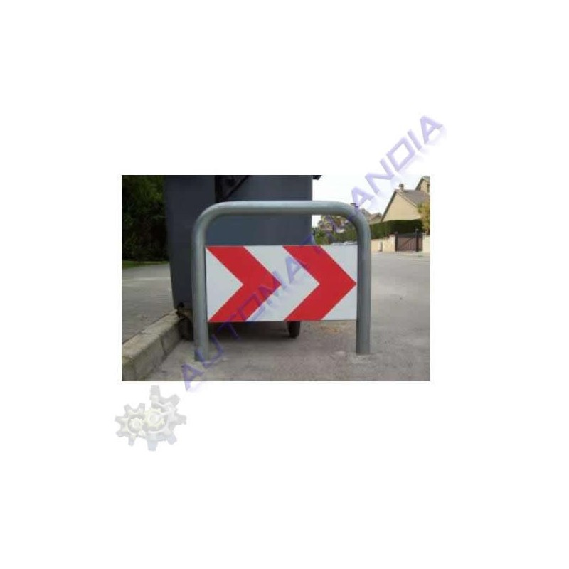 Valla de protecci n y se alizaci n contenedores de basura - Vallas de proteccion ...