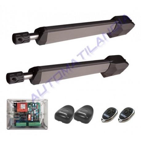 Motores de puertas precio kit pist n electromec nico - Motores para puertas de garaje abatibles ...