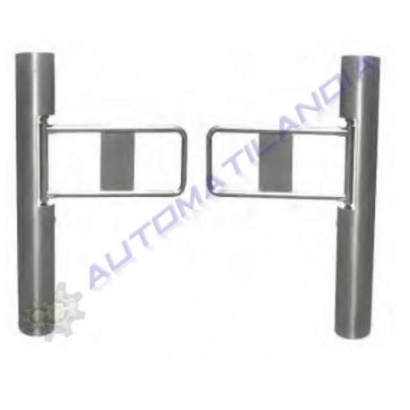 portillo automático gstc-002d acero inoxidable doble.