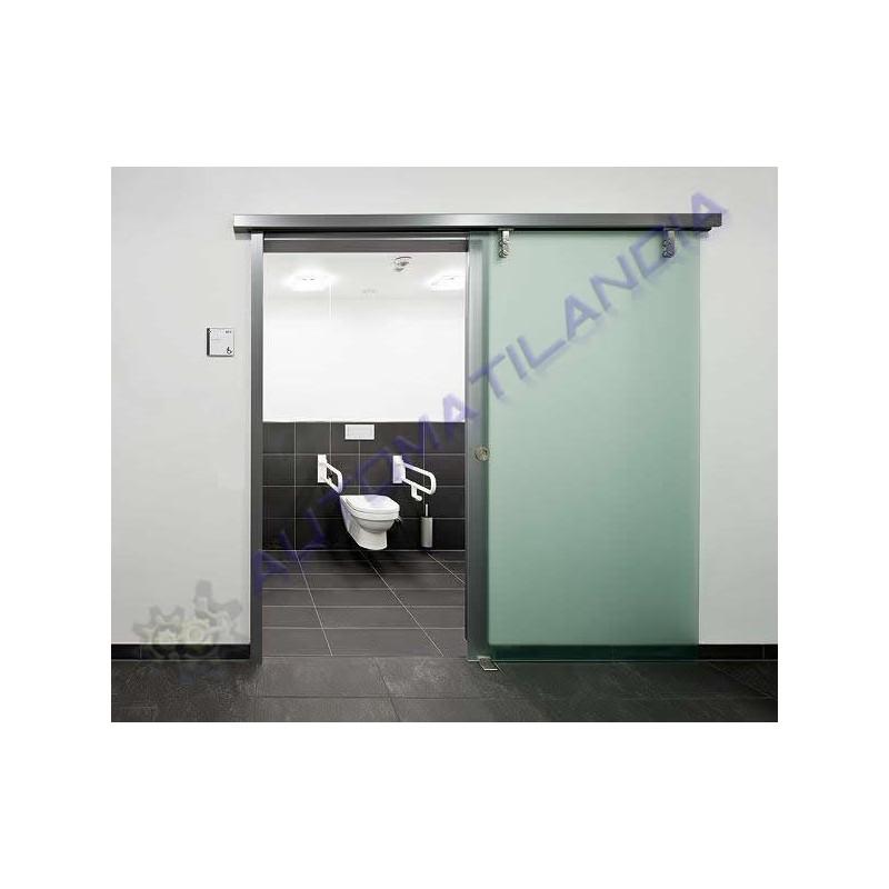 Puertas de corredera de cristal puertas de cristal en - Kit para puerta corredera ...