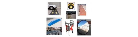 Elementos de protección y señalización para evitar accidentes