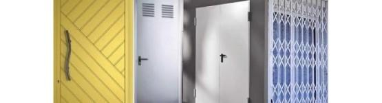 Puertas seguridad. Puertas entrada. Puertas comercios y puertas industriales