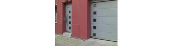 Puertas seccionales para el hogar soluciones completas para puertas el ctricas residenciales e - Puertas de garaje seccionales baratas ...