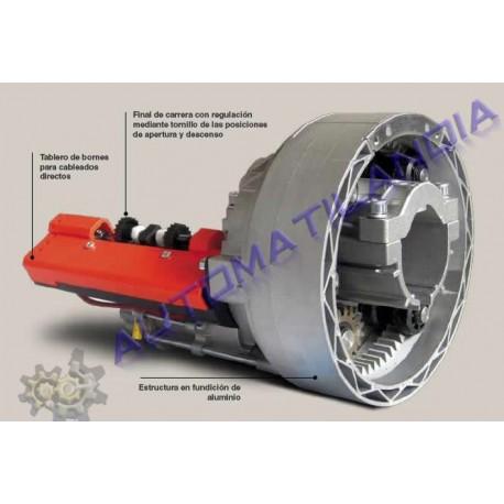 motor enrollable jewel eje 42,48 y 60 de 130kg sin electrofreno.
