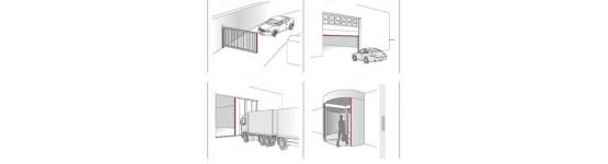 Dispositivos de seguridad y homologación para puertas motorizadas